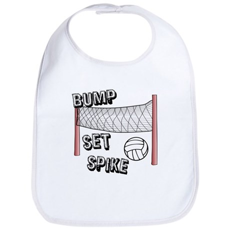 Bump, Set, Spike Bib