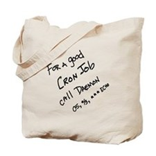 Cron Job Daemon Tote Bag