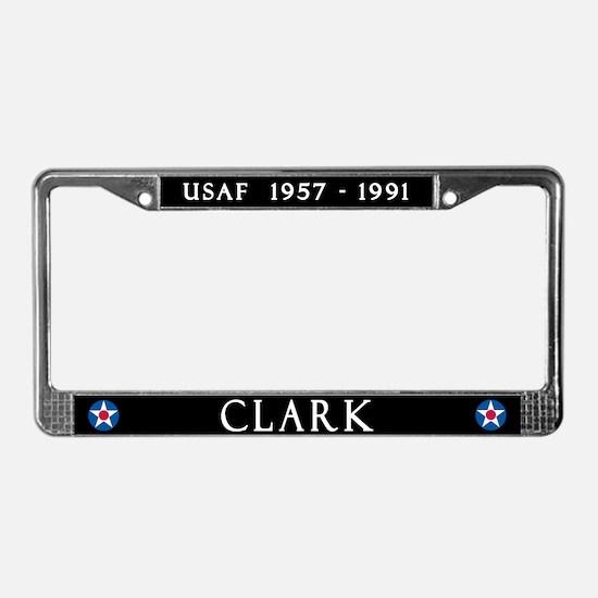 Clark Air Base License Plate Frame