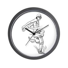 Kick Twist BBoy Wall Clock