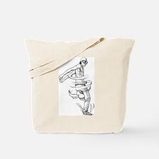 Kick Twist BBoy Tote Bag