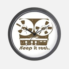 Keep It Reel Wall Clock