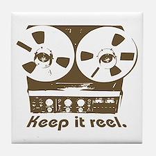 Keep It Reel Tile Coaster