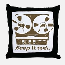 Keep It Reel Throw Pillow