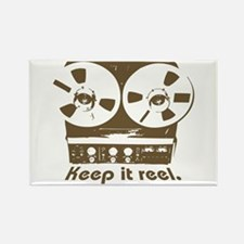 Keep It Reel Rectangle Magnet