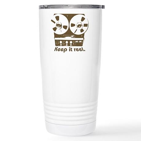 Keep It Reel Stainless Steel Travel Mug