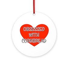 cornbread Ornament (Round)