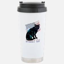 The Bombay Cat Stainless Steel Travel Mug