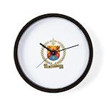 FALARDEAU Family Crest Wall Clock