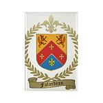 FALARDEAU Family Crest Rectangle Magnet
