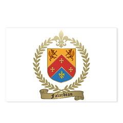 FALARDEAU Family Crest Postcards (Package of 8)