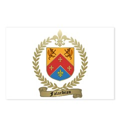 FALARDEAU Family Crest Postcards (Package of 8)