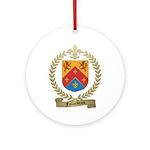 FALARDEAU Family Crest Ornament (Round)