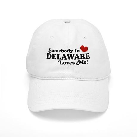 Somebody in Delaware Loves me Cap