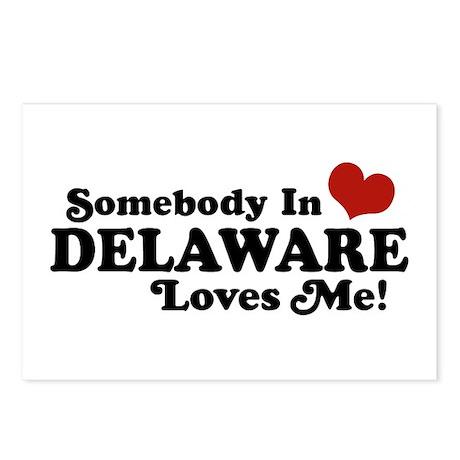 Somebody in Delaware Loves me Postcards (Package o