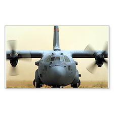 C-130 Hercules Rectangle Decal