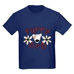 Puppy Dog Kids Dark T-Shirt