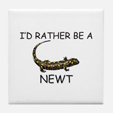 I'd Rather Be A Newt Tile Coaster