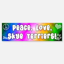 Hippie Skye Terrier Bumper Bumper Bumper Sticker