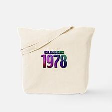 classic 1978 Tote Bag