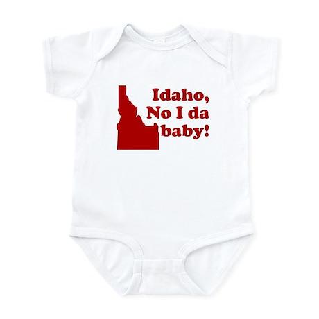 FUNNY BABY SHIRT IDAHO NO IDA Infant Bodysuit