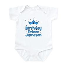 1st Birthday Prince Jameson! Infant Bodysuit