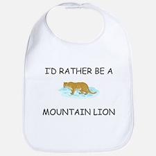 I'd Rather Be A Mountain Lion Bib