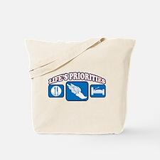 Life's Priorities Track & Fie Tote Bag