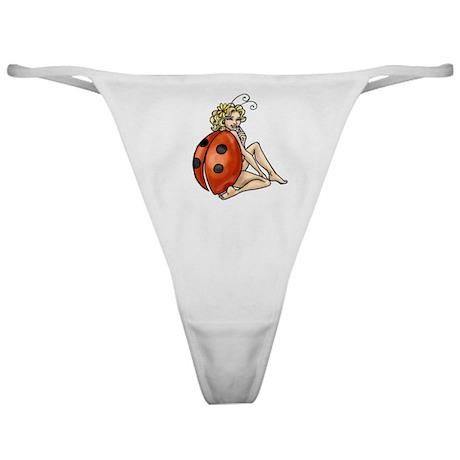 ladybird art Classic Thong