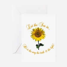 Let the Son In Greeting Cards (Pk of 10)