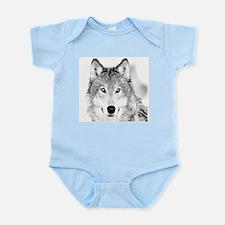 Great White Wolf Infant Bodysuit