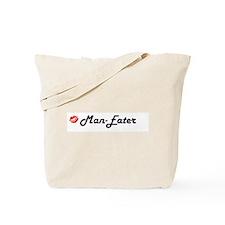 Cute Man eater Tote Bag