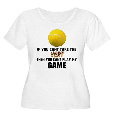 Tennis Can't Take the Heat (Plus Size Scoop Neck)