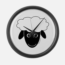 Sherry the Sheep Large Wall Clock