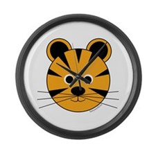 Timmy the Tiger Large Wall Clock