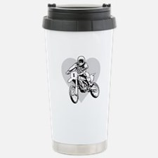 """""""I love dirt biking"""" Travel Mug"""