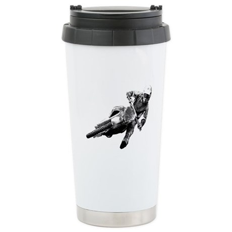 Grooving it on a dirt bike Stainless Steel Travel