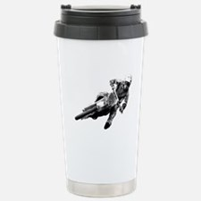 Grooving it on a dirt bike Travel Mug