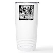 Fun in the woods dirt biking Travel Mug