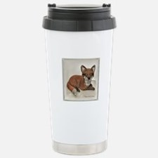 Fox Resting Design Travel Mug