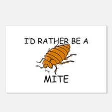 I'd Rather Be A Mite Postcards (Package of 8)