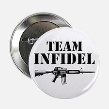 """Team Infidel 2.25"""" Button"""