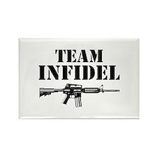 Team Infidel Rectangle Magnet