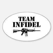Team Infidel Oval Decal