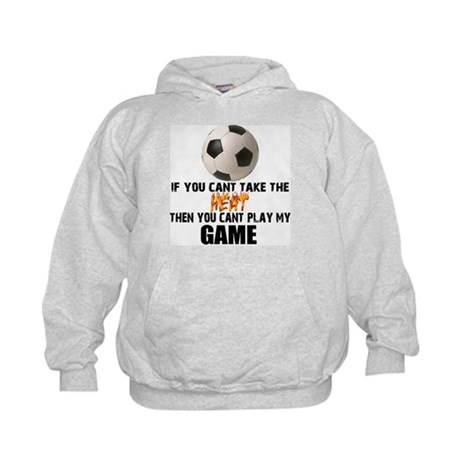 Soccer Can't Take the Heat (Kids Hoodie)