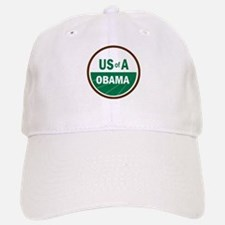 USofA Organic Obama Baseball Baseball Cap