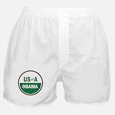 USofA Organic Obama Boxer Shorts