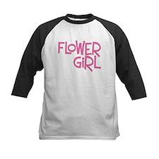 Hipster Flower Girl: Pink Tee