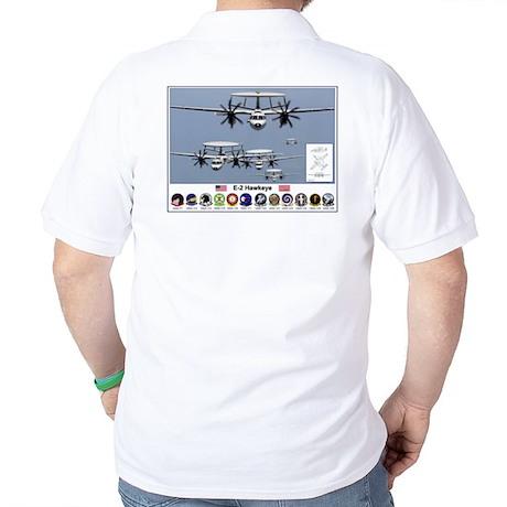 E-2 Hawkeye Golf Shirt