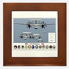 E-2 Hawkeye Framed Tile